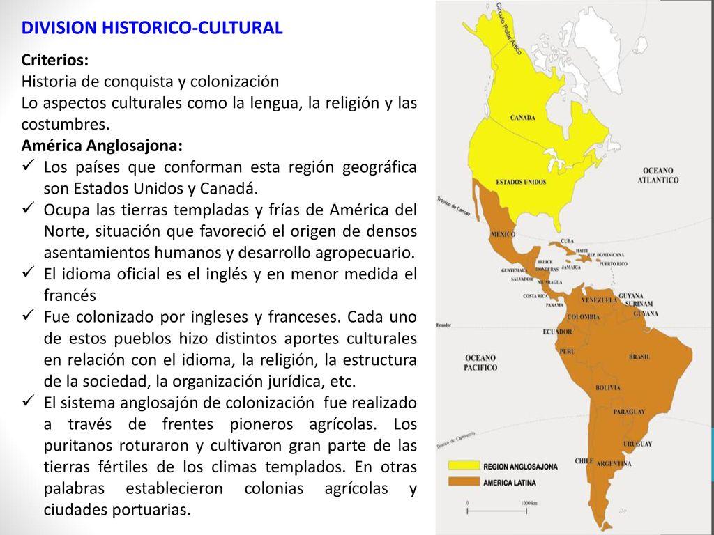 DIVISION HISTORICO-CULTURAL