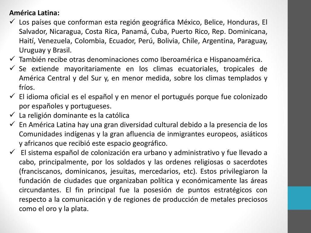 América Latina: