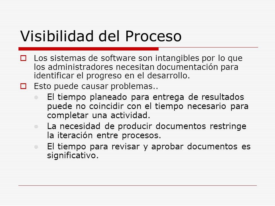 Visibilidad del Proceso