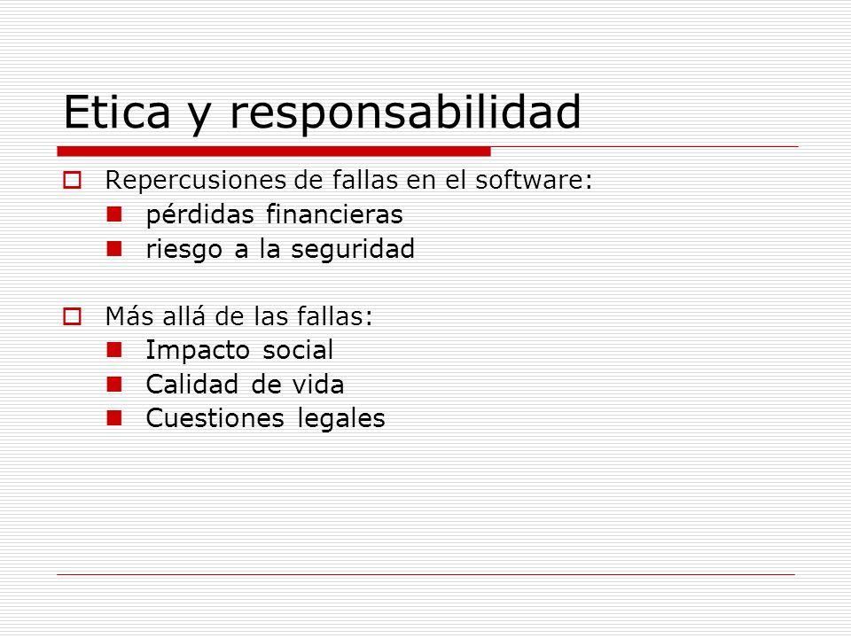 Etica y responsabilidad