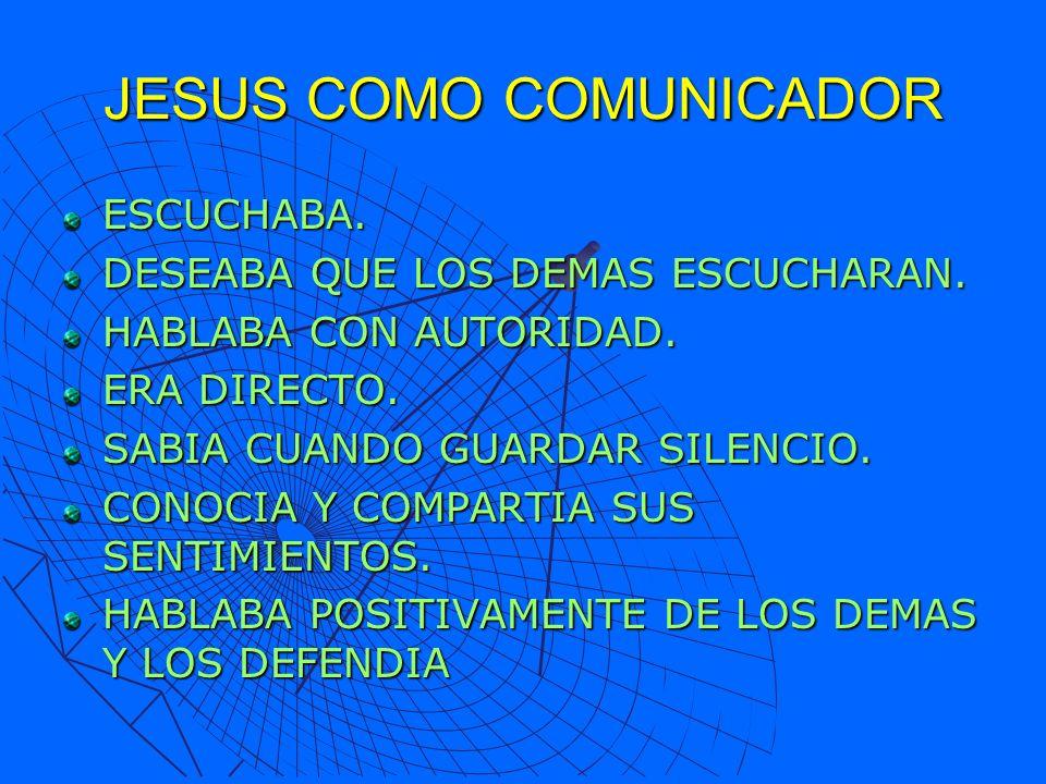 JESUS COMO COMUNICADOR