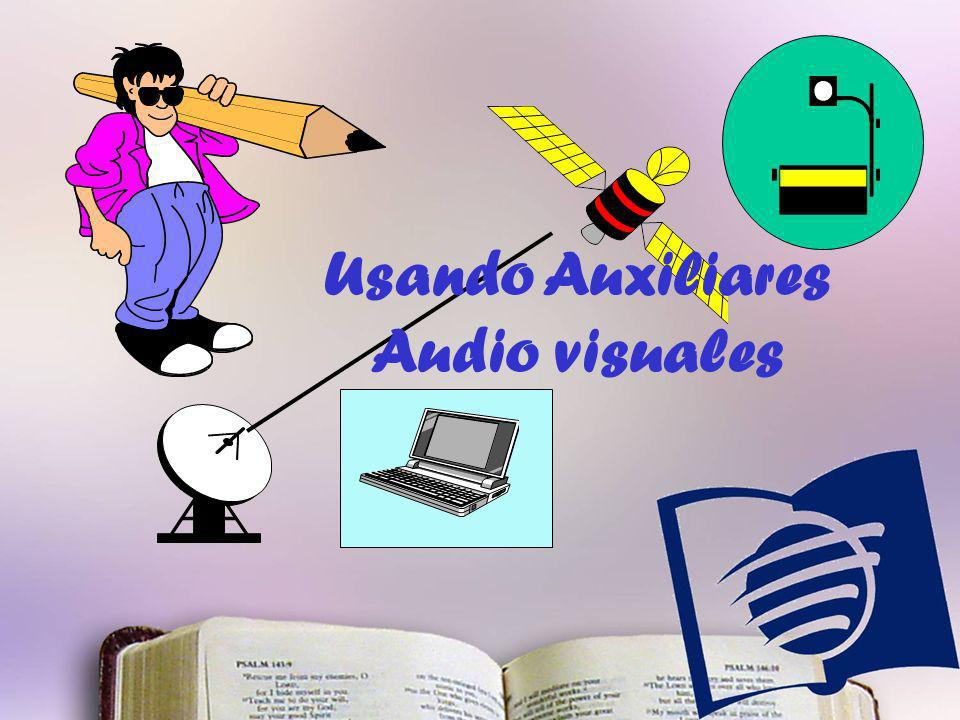 Usando Auxiliares Audio visuales