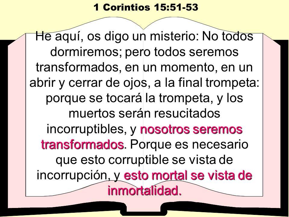 1 Corintios 15:51-53