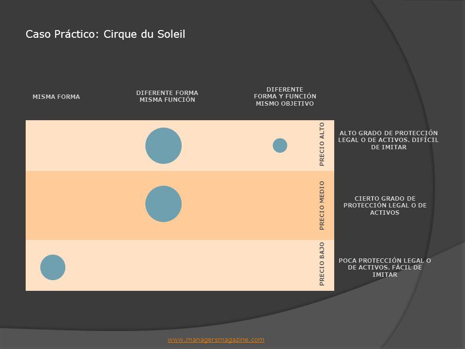 Caso Práctico: Cirque du Soleil