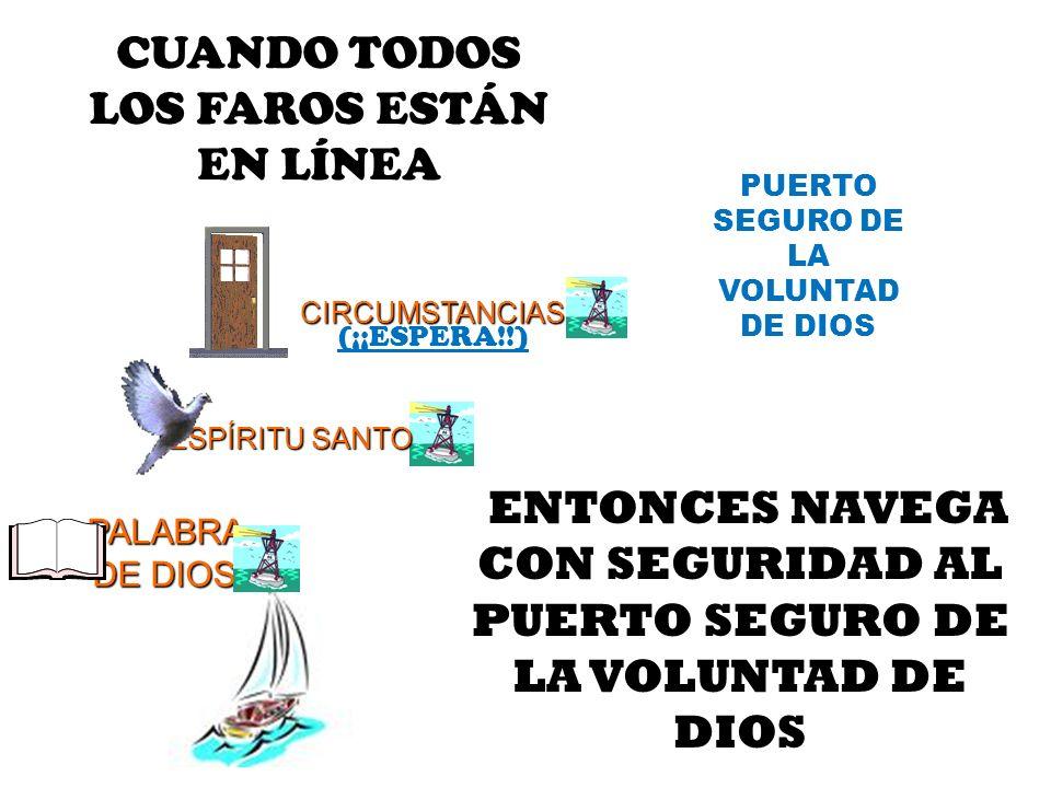 CUANDO TODOS LOS FAROS ESTÁN EN LÍNEA