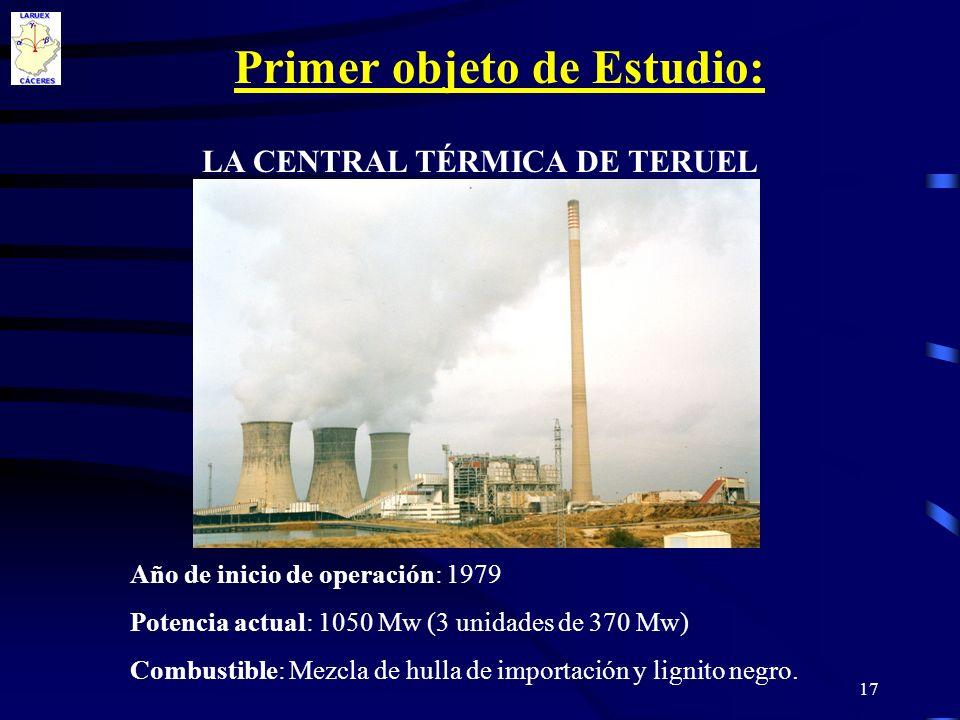 LA CENTRAL TÉRMICA DE TERUEL