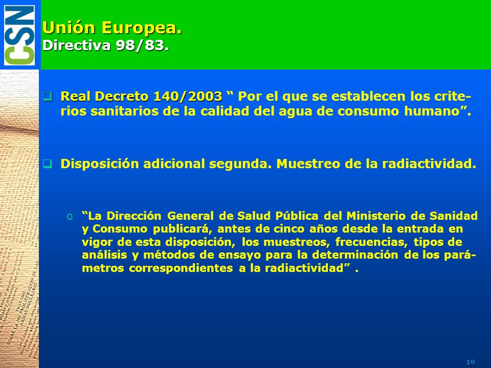 Consejo de seguridad nuclear ppt descargar for En 2003 se completo la secuenciacion del humano