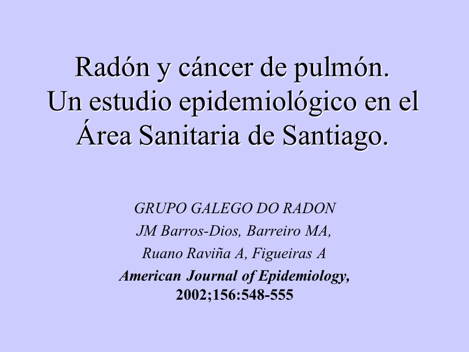 American Journal of Epidemiology, 2002;156:548-555