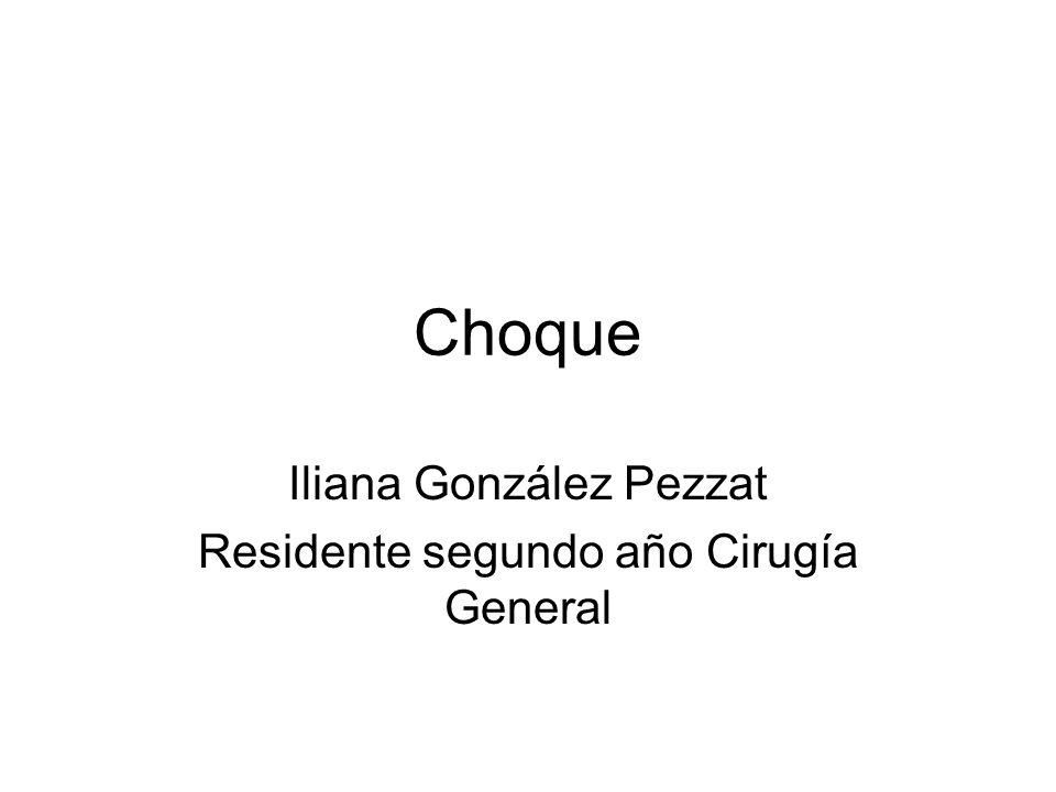 Iliana González Pezzat Residente segundo año Cirugía General