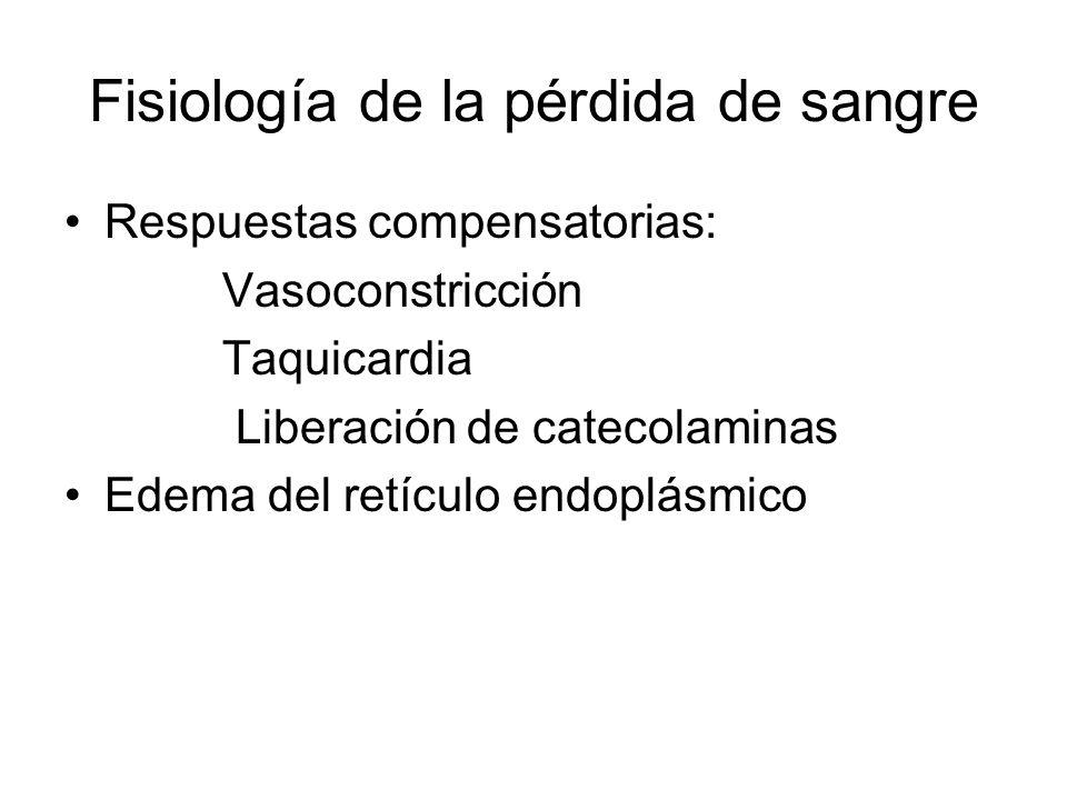 Fisiología de la pérdida de sangre