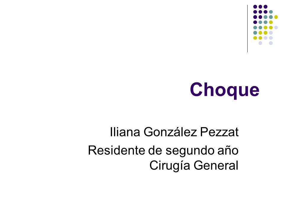 Iliana González Pezzat Residente de segundo año Cirugía General