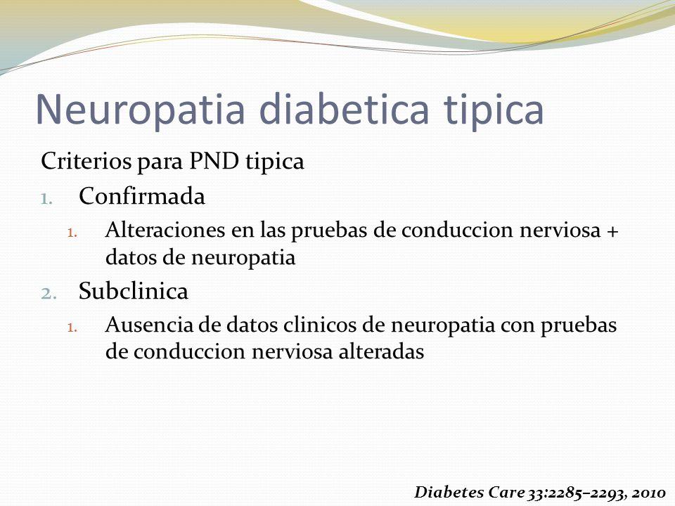 Neuropatia diabetica tipica