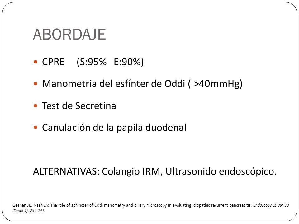 ABORDAJE CPRE (S:95% E:90%)