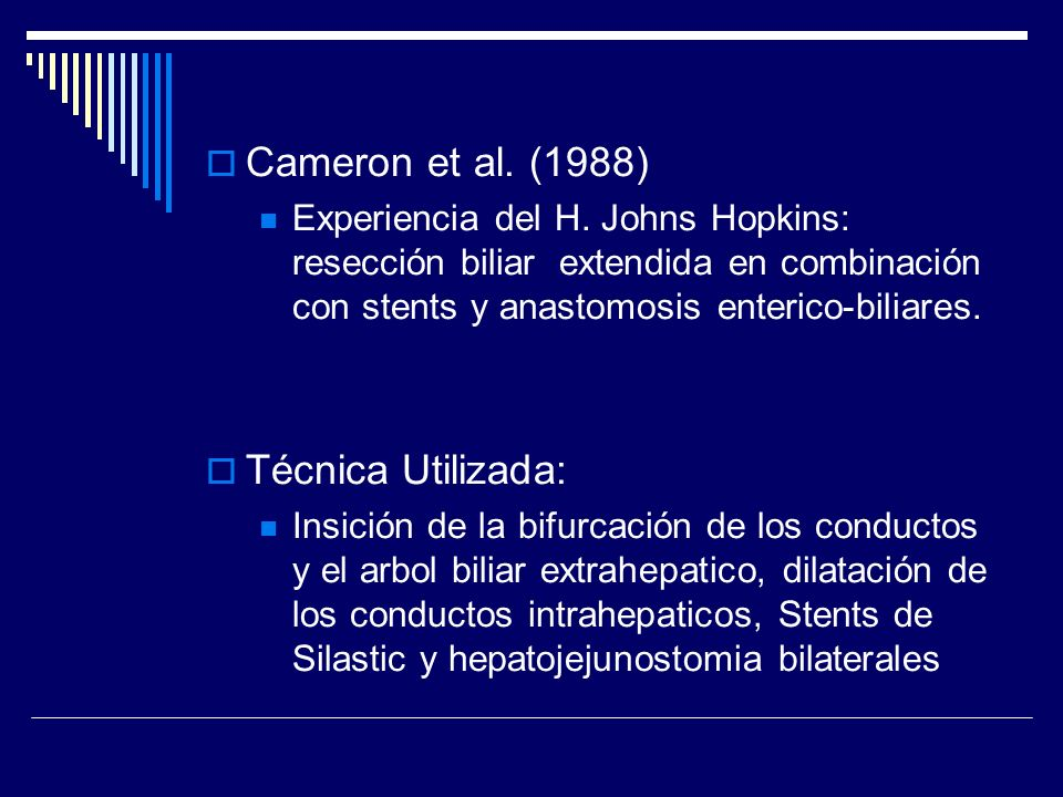 Cameron et al. (1988) Técnica Utilizada: