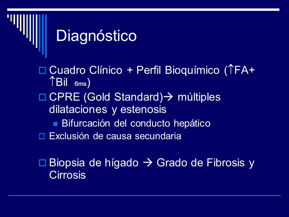 Diagnóstico Cuadro Clínico + Perfil Bioquímico (FA+ Bil 6ms)