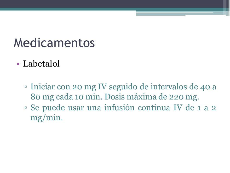 Medicamentos Labetalol