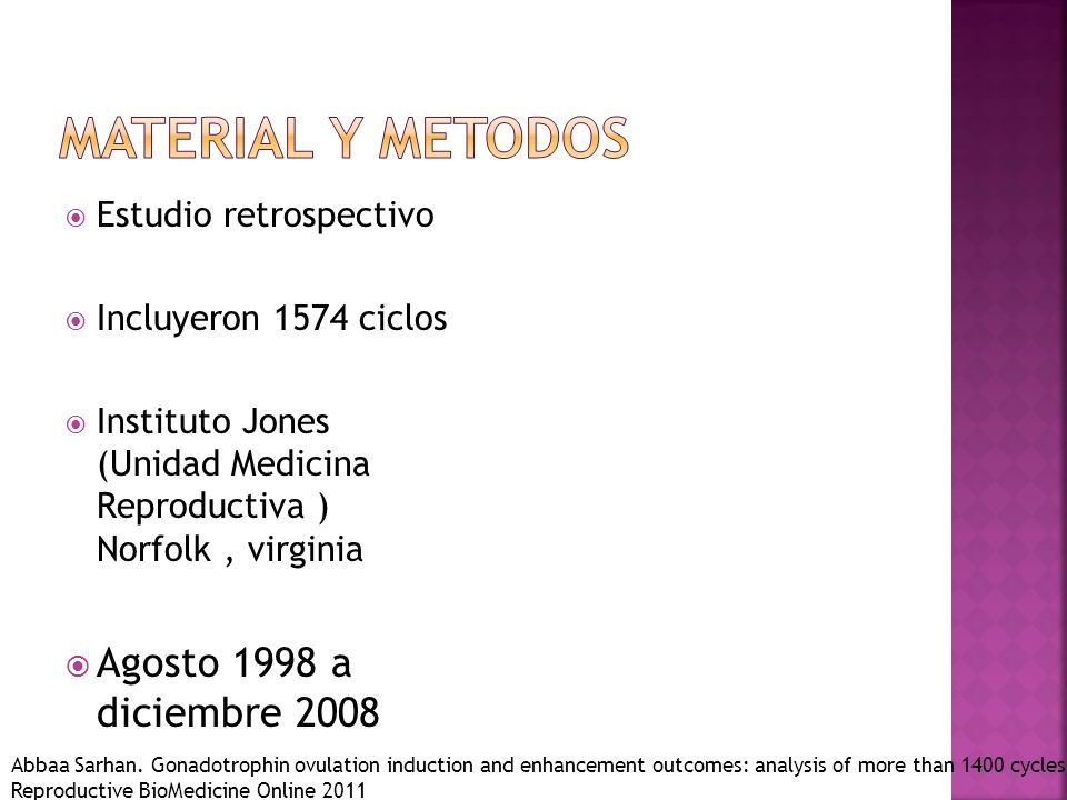 Material y metodos Agosto 1998 a diciembre 2008 Estudio retrospectivo