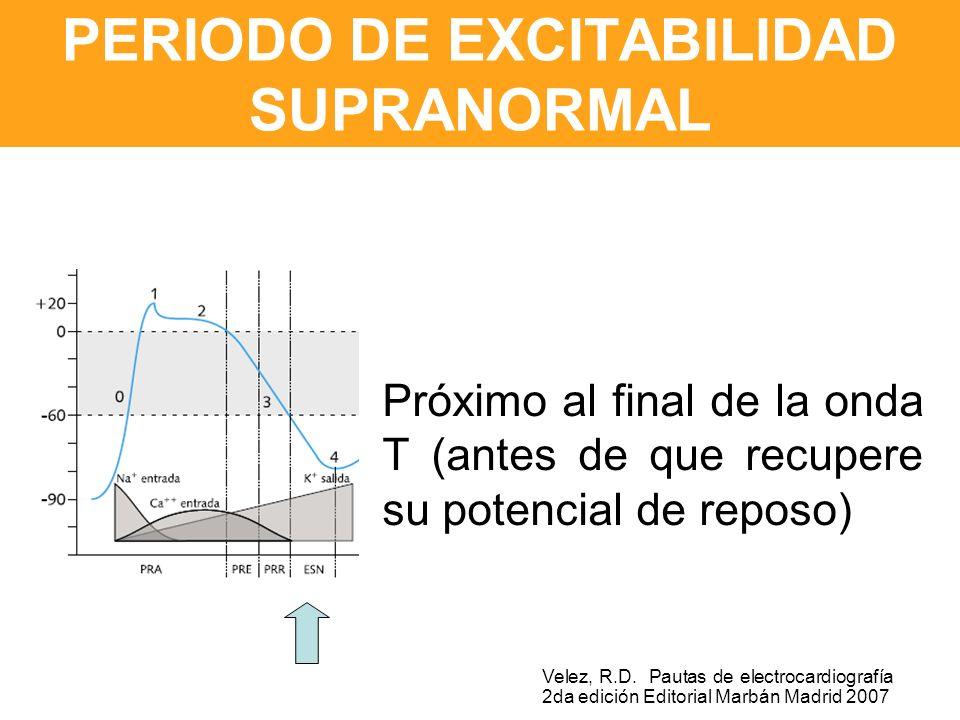PERIODO DE EXCITABILIDAD SUPRANORMAL
