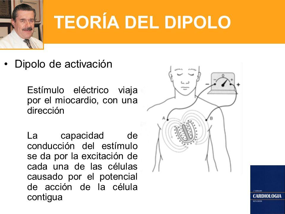 TEORÍA DEL DIPOLO Dipolo de activación