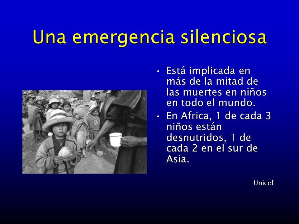 Una emergencia silenciosa