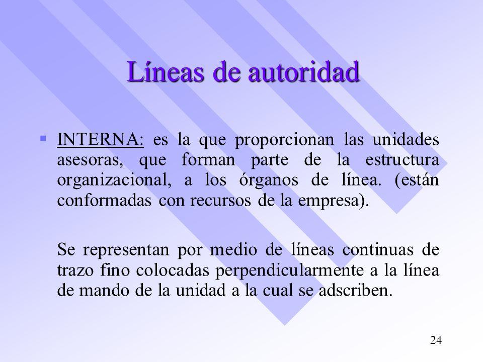 Líneas de autoridad