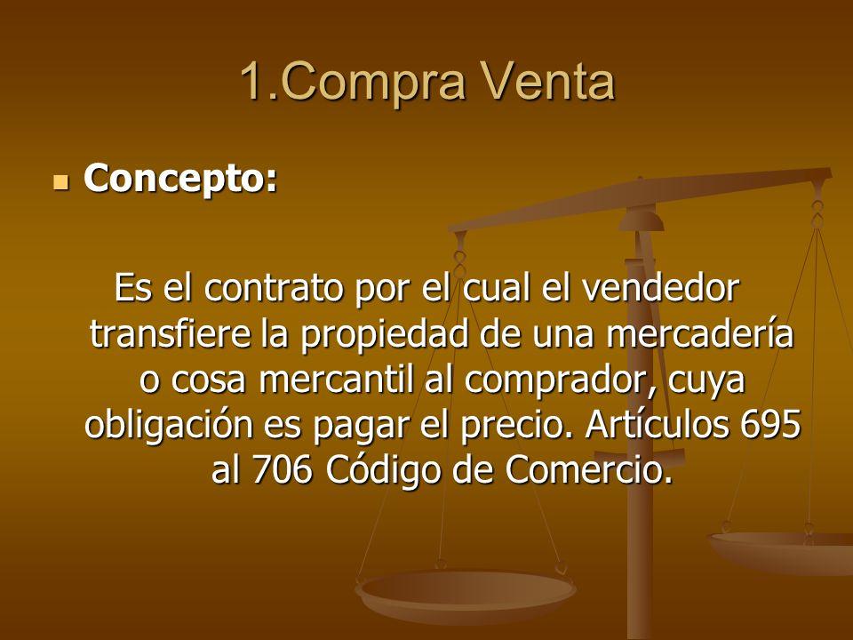 1.Compra Venta Concepto: