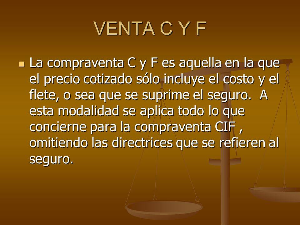 VENTA C Y F