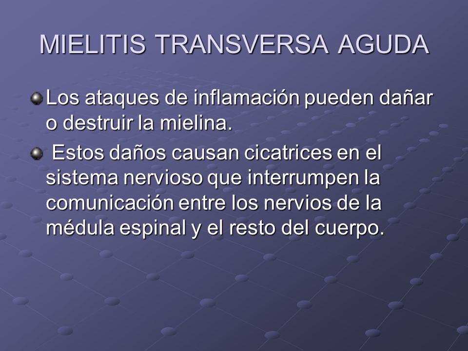 MIELITIS TRANSVERSA AGUDA