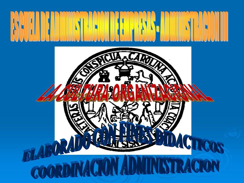 ESCUELA DE ADMINISTRACION DE EMPRESAS - ADMINISTRACION III