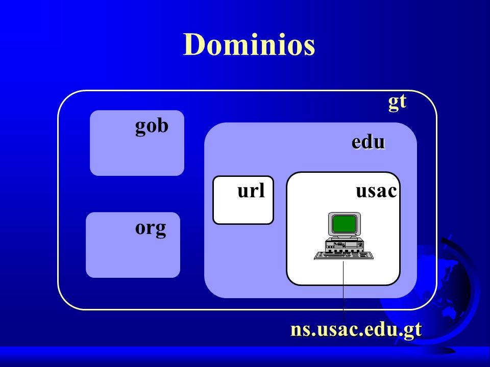 Dominios gt gob edu url usac org ns.usac.edu.gt