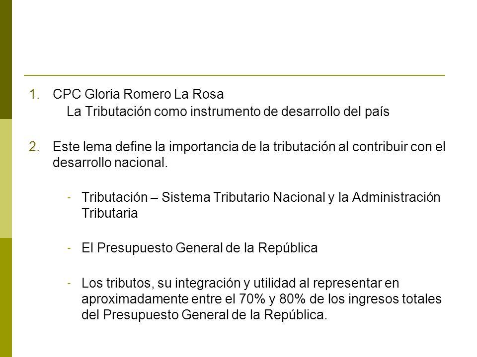 CPC Gloria Romero La Rosa