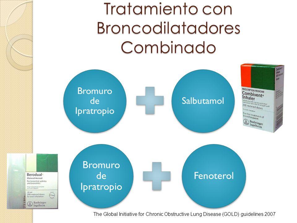 Tratamiento con Broncodilatadores Combinado