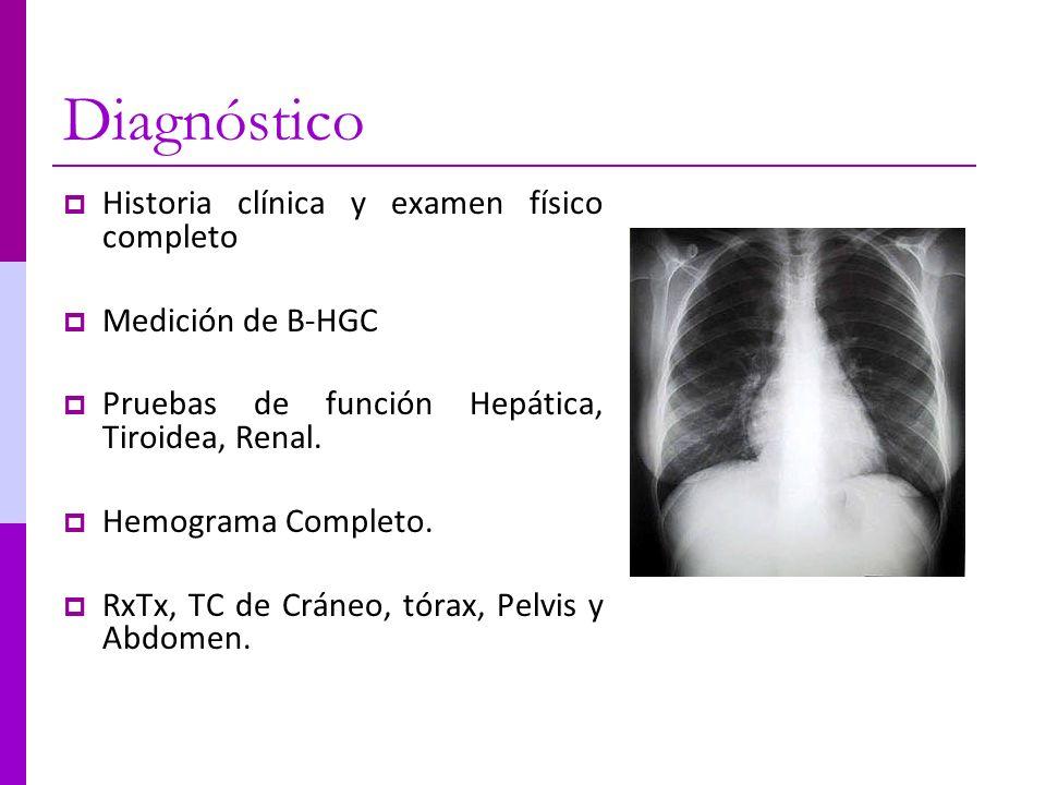 Diagnóstico Historia clínica y examen físico completo
