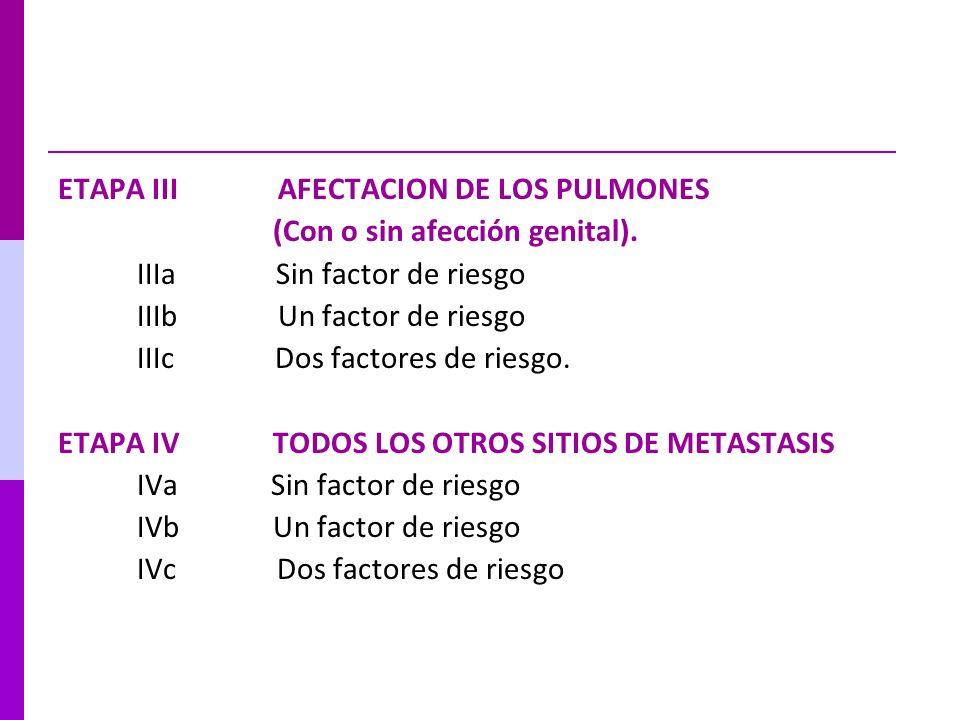 ETAPA III AFECTACION DE LOS PULMONES