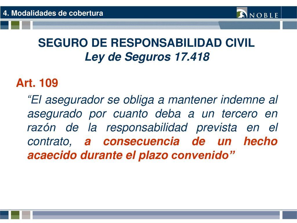 Seguros de responsabilidad profesional m dica ppt descargar for Seguro responsabilidad civil autonomos obligatorio