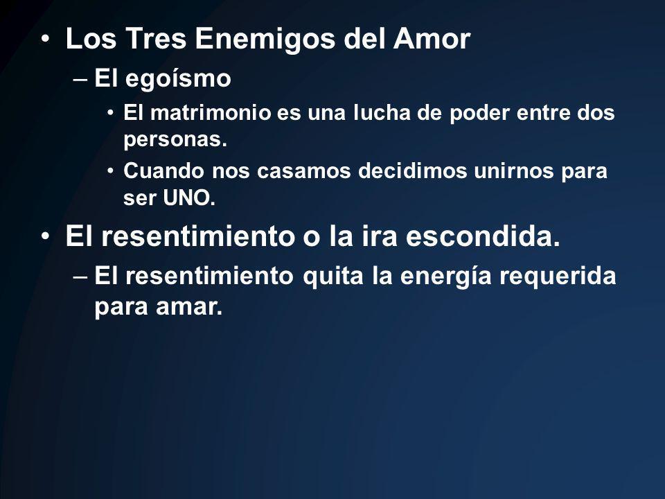 Los Tres Enemigos del Amor