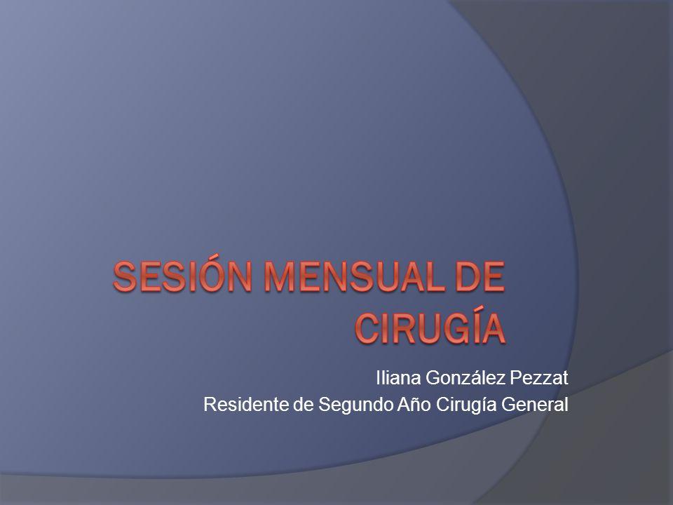 Sesión Mensual de Cirugía