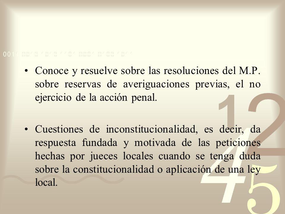 Conoce y resuelve sobre las resoluciones del M. P