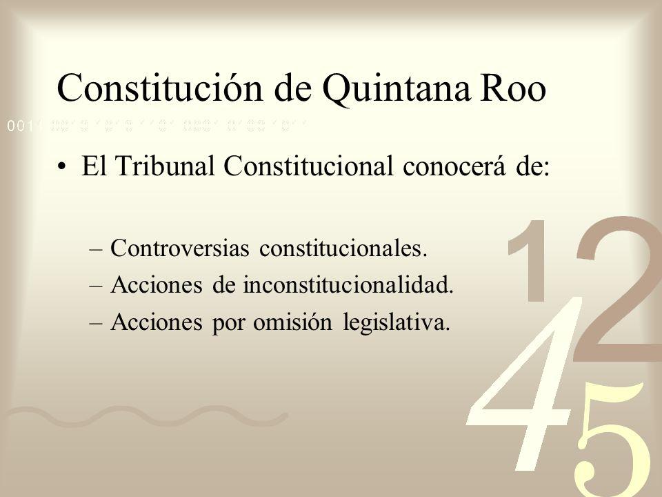 Constitución de Quintana Roo