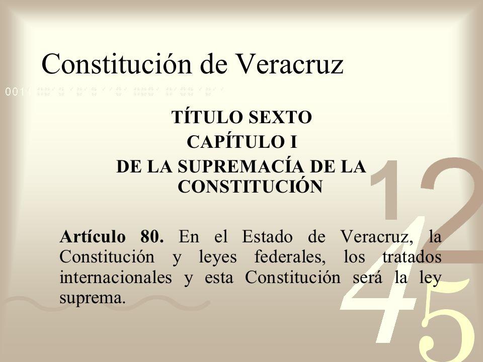 Constitución de Veracruz