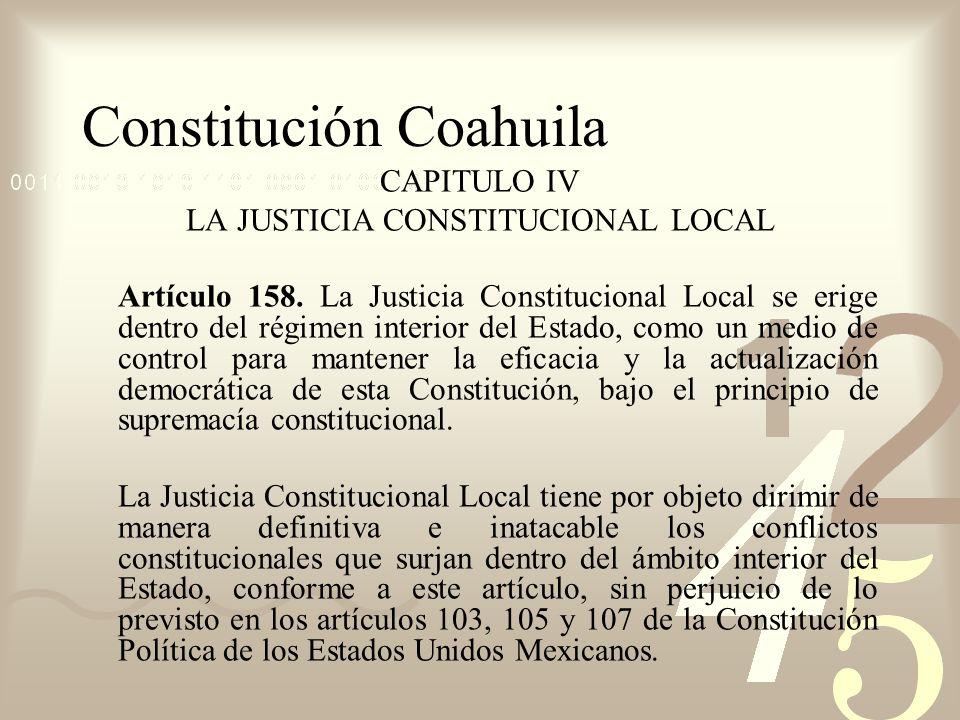 Constitución Coahuila