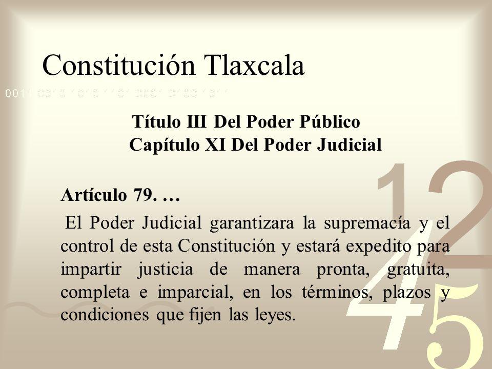 Constitución Tlaxcala