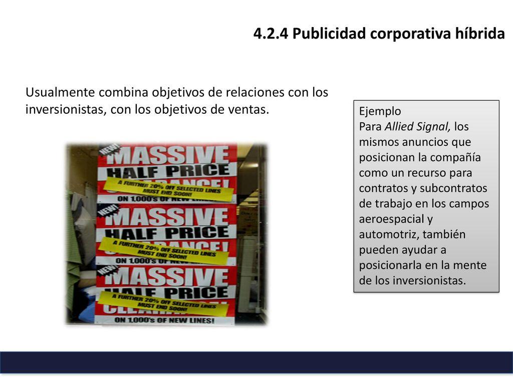 Unidad 4 Publicidad Corporativa - ppt descargar