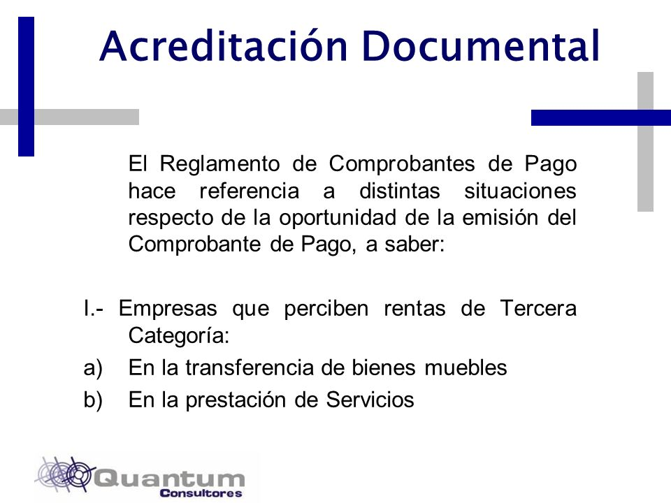 Acreditación Documental