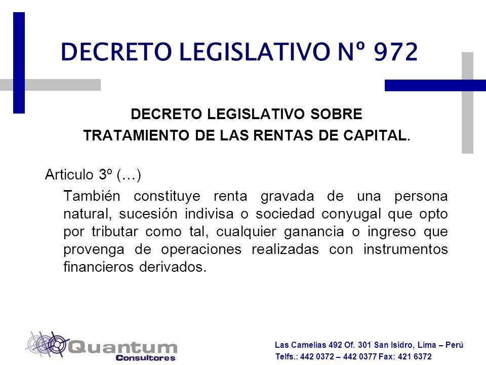 DECRETO LEGISLATIVO Nº 972