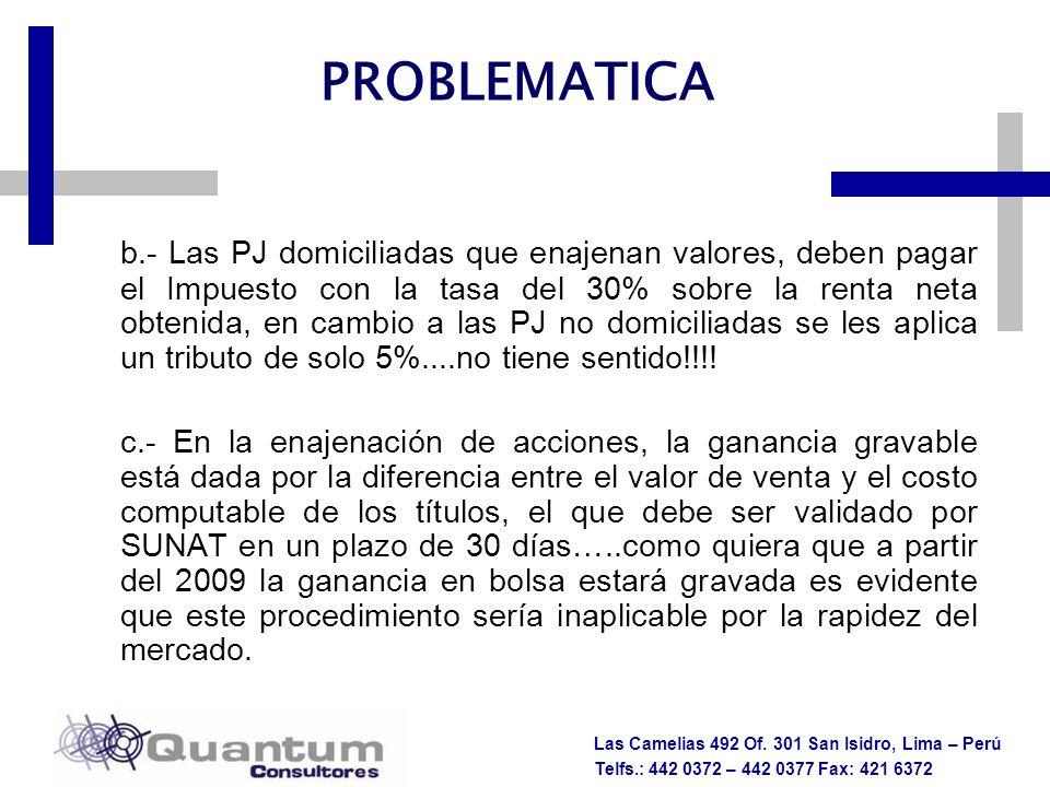 PROBLEMATICA