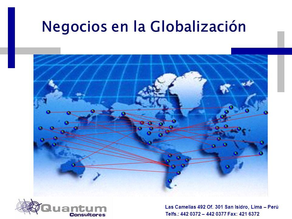 Negocios en la Globalización