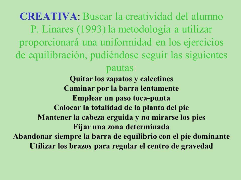 CREATIVA: Buscar la creatividad del alumno P