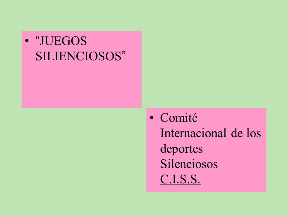 JUEGOS SILIENCIOSOS