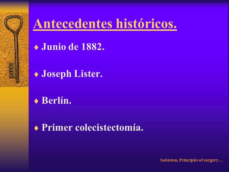 Antecedentes históricos.